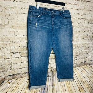 Simply Vera Vera Wang Blue Jean's sz 14